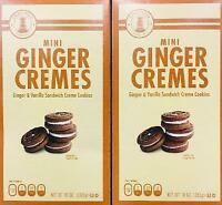 2Pk Sweetzels Mini Ginger Cremes, Ginger & Vanilla *~* FAST FREE SHIPPING ! *~*
