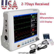 Portable Patient Monitor 6parameter Icu Ccu Vital Sign Cardiac Machine Fdace A