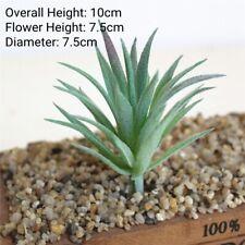 Artificial Succulent Flower Floral Plastic Plant Fake Aloe Home Garden Decor