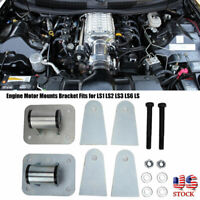 For LS1 LS2 LS3 LS6 LS Engine Motor Mounts Bracket LS Conversion Swap Universal