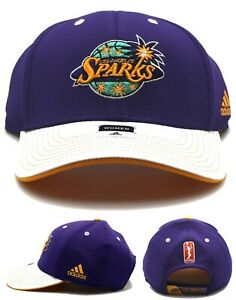 Los Angeles Sparks Adidas LA Lakers New Women Ladies Purple Dri Era Hat Cap