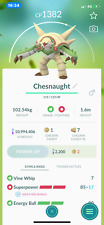 Pokemon Go Trading  Chesnaught with 2nd charge move for PVP Great League