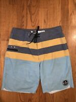 MIRAGE Rip Curl Beach Board Surf Shorts Mens Size 29 Waist Swim Trunks ❤️tb11j6