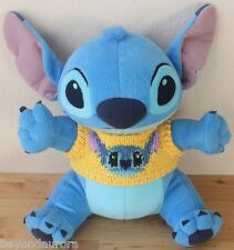 Disney Sega Lilo & Stitch Sitting Stitch w/Sweater Stuffed Animal Plush 10""