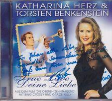 Katharina Herz&Torsten Benkenstein-True Love cd album gesigneerd