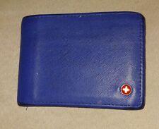 Blue Alpine Swiss Bifold Wallet