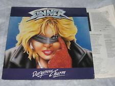 Sinner - Dangerous Charm (Noise Records Heavy Metal Vinyl LP-1987)