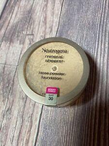 Neutrogena Mineral Sheers Powder Foundation #30 BUFF New & Sealed