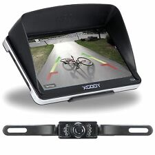 7'' GPS Navigation SAT NAV Navigator with AU Map Bluetooth AV-IN+Reverse Camera