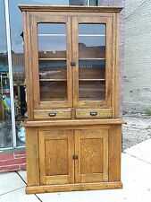 Victorian Antique cupboard cabinet Wisconsin Made