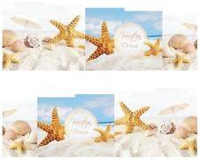 Nail Art Sticker Water Decals Transfers Seashells Holiday Beach (DB158)