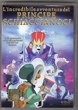 DVD L'incredibile avventura del principe schiaccianoci