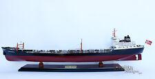 Texaco Bogota Oil Tanker Handmade Wooden Ship Model
