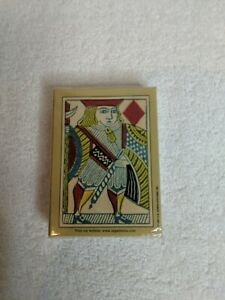 New - U.S. Games Systems Highlander's 1864 Poker Cards Replica - Ages 10+
