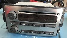 2006-2010 Gm Hummer H3 H3T Chrome Single Disc Cd Player Am/Fm Radio 15852200 #2