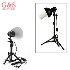 Photo Studio Table Top Portable Lighting + Light Stand For Soft Box Cube Tent