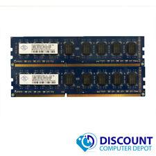 4GB KIT 2 x 2GB DDR3 1333Mhz PC3 10600u Intel Desktop DIMM Memory RAM 240 Pin