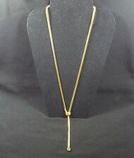 "Joan Rivers Snake Chain Smooth Finish 24"" Adjustable Style Goldtone NWOT"