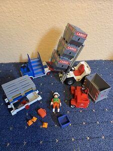Playmobil Einzelteile Konvolut 4315 4476 Stapler Cargo