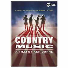 COUNTRY MUSIC: A FILM BY KEN BURNS 8-DISC (DVD, 2019) BRAND NEW SEALED BOXSET
