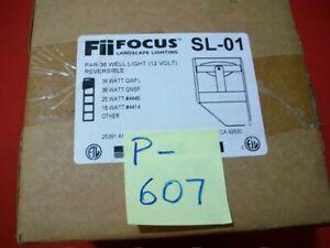 NEW Fii FOCUS LOW VOLTAGE LANDSCAPE LIGHTING FIXTURE SL-01 RATED PAR36 WATT QWFL