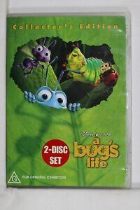 A Bug's Life (DVD, 2003, 2-Disc Set) - Reg 4 Like New (D639)