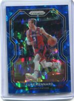 2020-21 Panini Prizm Basketball LUKE KENNARD Blue Ice /125 Parallel Pistons