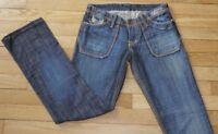 KAPORAL  Jeans pour Femme  W 27 - L 32 Taille Fr 35 LOLA (Réf # F178)