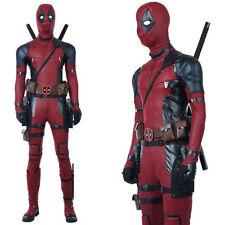 Deadpool Costume Adult  Kid Spandex Lycra Zentai Bodysuit Halloween Cosplay Suit