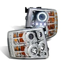 CG Chevy Silverado 07-13 Projector Headlight Chrome Clear (CCFL)