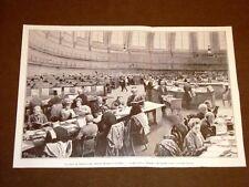 Londra nel 1907 Sala di lettura del British Museum Più grande biblioteca mondo