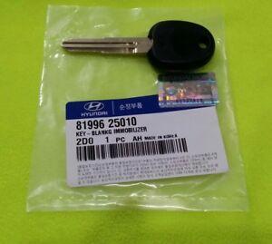 GENUINE HYUNDAI Accent Blank Transponder Key 81996 25010