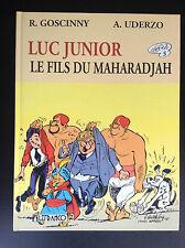 Luc Junior Le fils du Maharadjah Goscinny Uderzo Walthéry 1990 TTBE
