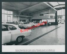 Uelzen Wagenfabrik Cordes Adam Opel AG Großhändler Auto Werkstatt Leitstand 1965