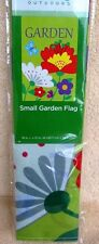 New listing Garden Flag with Flowers and Butterflies 18 x 12 Inches New Trueliving Outdoors