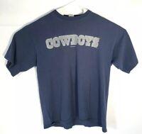 Dallas Cowboys VTG Starter NFL Football Short Sleeve TShirt XL Blue USA 95 Mens