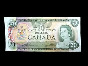 1979 $20 Bank of Canada Banknote 52053495482 Thiessen Crow EF Grade Bill