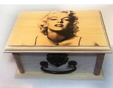 Marilyn Monroe Trinket box, jewelry box, Storage, Keepsake Box, actress, Holiday