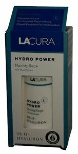 Lacura Duo-Hyaluron Hydro Power Nachtpflege 50 ml für alle Hauttypen