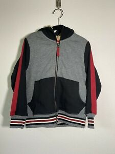 Hanna Andersson Multicolor Fleece Lined Hoodie Size 100 4T $50