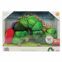 VERY HUNGRY CATERPILLAR 50TH ANNIVERSARY LIMITED EDITION PLUSH AND PRINT BOXED