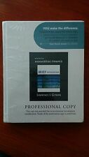 Principles of Managerial Finance, Brief 5th PROFESSIONAL COPY Lawrence J. Gitman