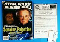 Star Wars INSIDER Magazine #37💥EMPEROR PALPATINE REVEALED💥LEIA RENEWAL LTR