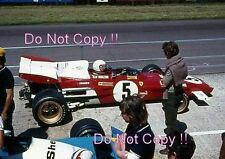 Clay Regazzoni Ferrari 312 B2 British Grand Prix 1971 Photograph 2