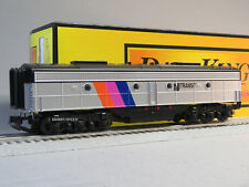 MTH NJ TRANSIT E-8 B UNIT DIESEL ENGINE O GAUGE non powered DUMMY 30-20437-3 NEW