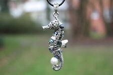 P103 Muschel Perlmutt Perlen Schmuck Anhänger Collier mit Schnur Halskette Kette