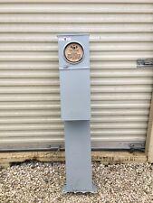 Mobile Home Electric Pedestal Milbank U5138-O-200P Single Pad Mount 200A