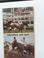 1977 CAULFIELD CUP BOOK- BART'S MING DYNASTY WINS -OTHER GREAT STARTERS-UNMARKED