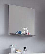Graue Badezimmer Spiegel aus Holz günstig kaufen