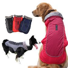 Medium Large Dog Coat Waterproof Warm Jackets Winter Clothes for Pets Reflective